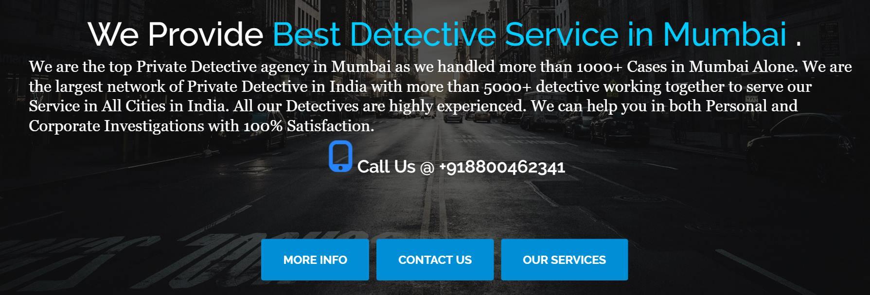 Private Detective Agency Mumbai