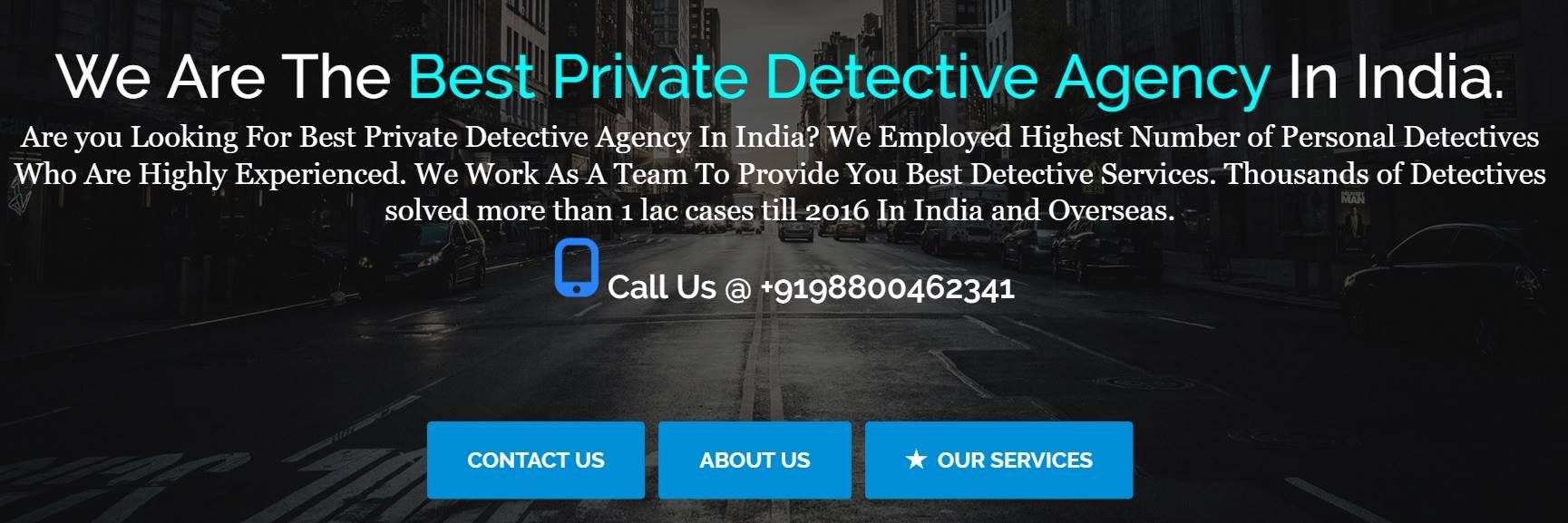 Detective Agency In India - Private Detective Services